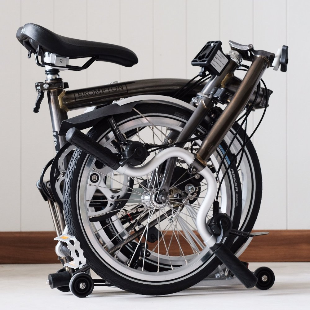 Sepeda Lipat.Brompton M6R 2019 Raw Lacquer. Harga Rp. 22
