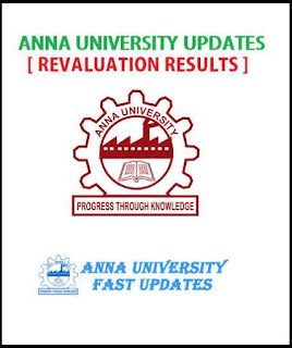 Anna University May June 2016 Revaluation Results UG PG 2nd 4th 6th 8th Semester May June 2016 Revaluation Results