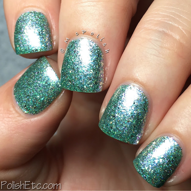 GlitterDaze - Escape to Paradise Collection - McPolish - I Need Vitamin Sea