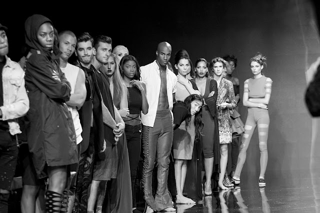 fashion week behind scenes ©george leon/filmcastlive