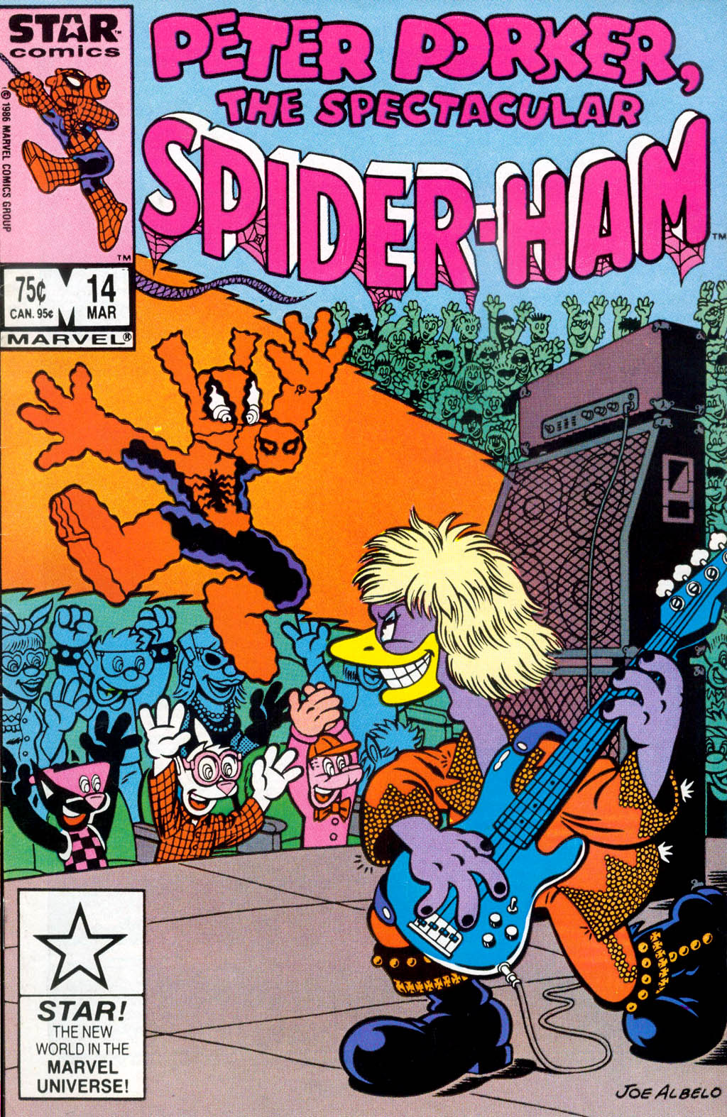 Peter Porker, The Spectacular Spider-Ham issue 14 - Page 1