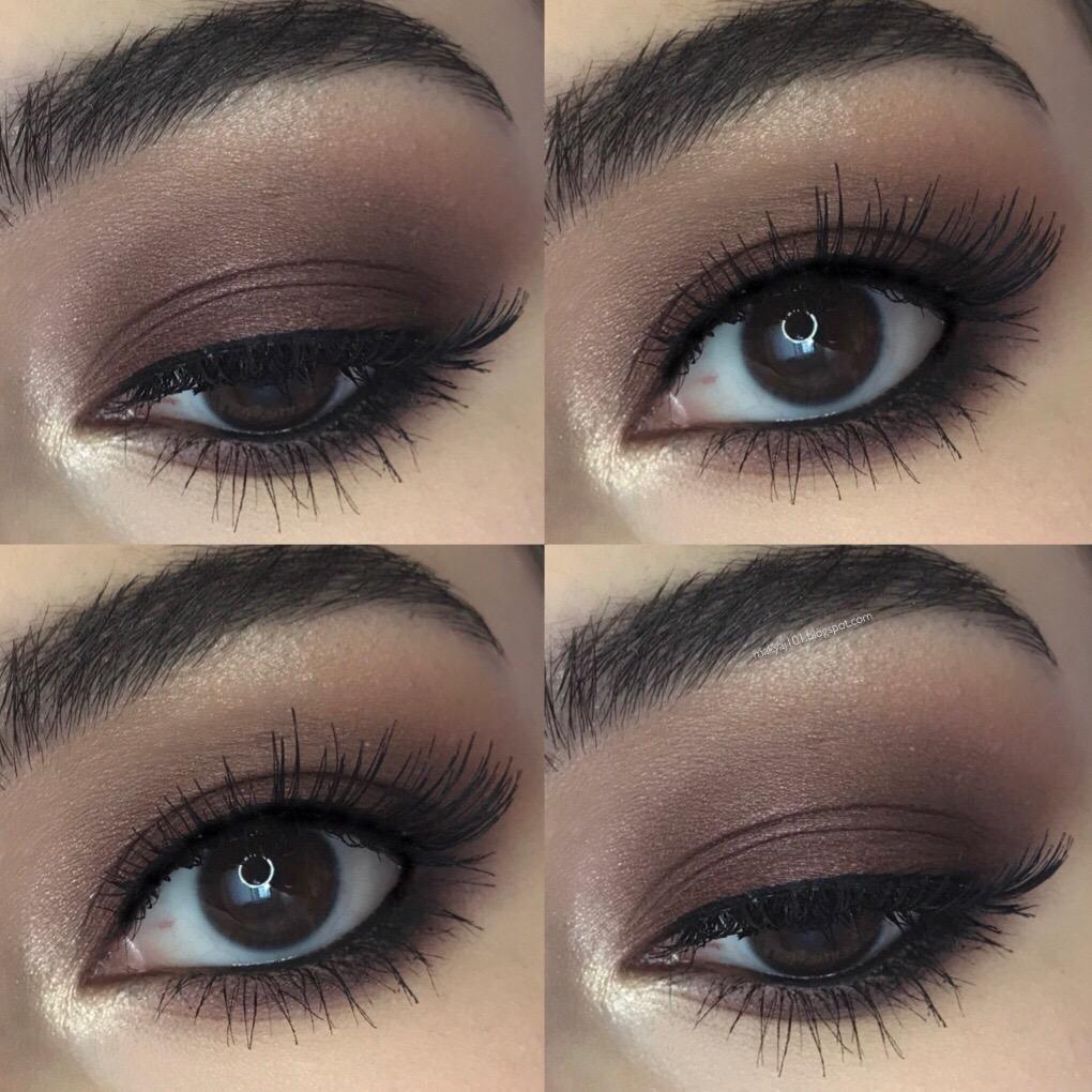 Koyu Tonlardaki Göz Makyajı Nasıl Yapılır