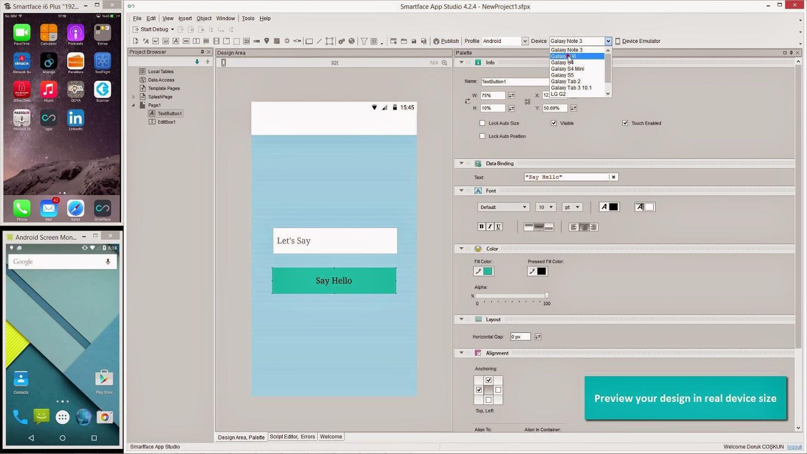 Smartface App Studio İnceleme