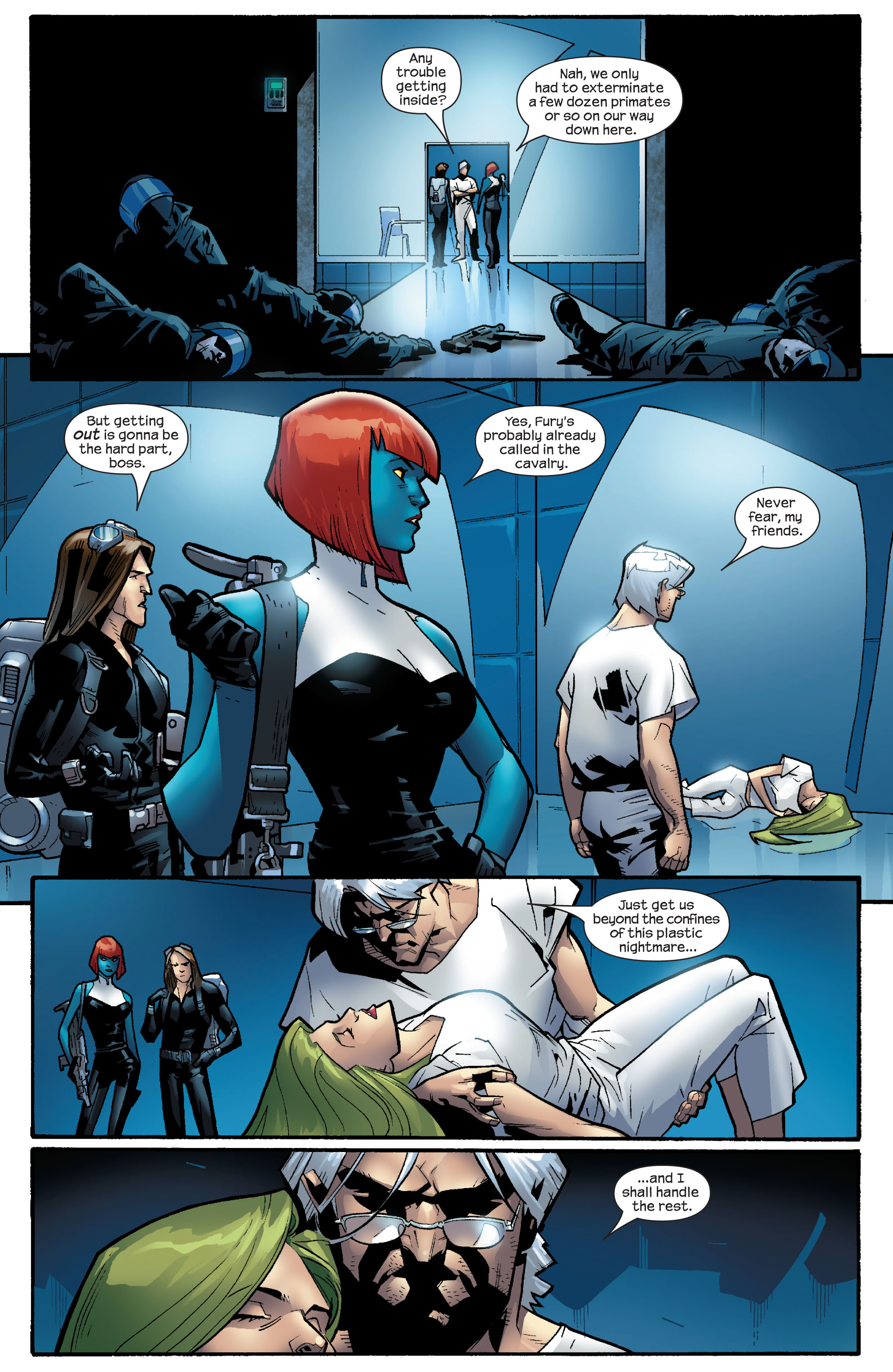 Read online Ultimate X-Men comic -  Issue #64 - 21