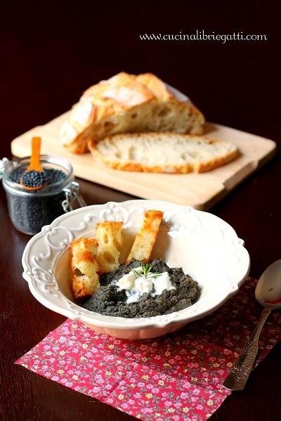 crema lenticchie burrata ricetta