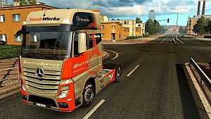 Truck Words skin for Mercedes MP4