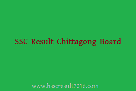 SSC Result Chittagong Education Board 2016