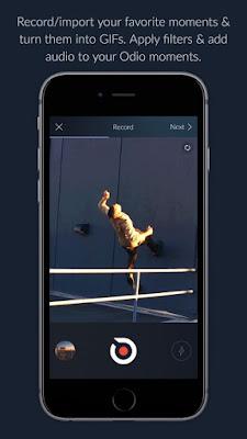 تحميل تطبيق Odio لدمج الصوت والصورة معا