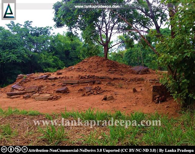 The Stupa mound at Keheliya Viharaya