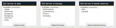 Server Fast SSH
