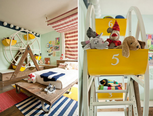 en images belles chambres d 39 enfants tr s originales le blog d co top. Black Bedroom Furniture Sets. Home Design Ideas