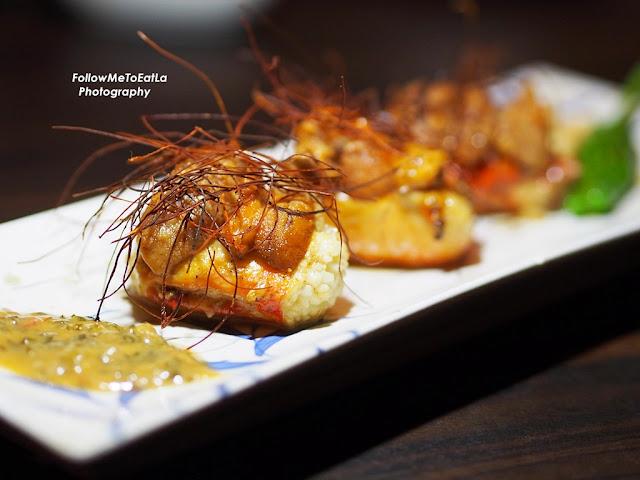 Hokkaido Uni King Crab Teppanyaki RM 118