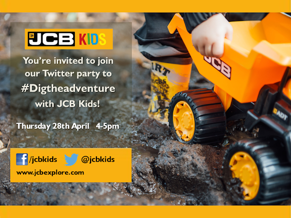 #Digtheadventure with JCB Kids