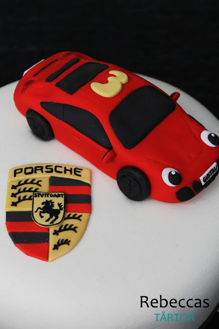 Porsche tårta