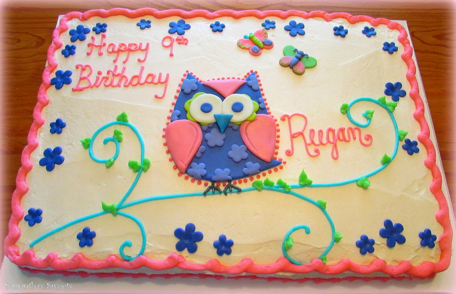 Samanthas Sweets And Sams Sweet Art Birthday Cake Photo Gallery