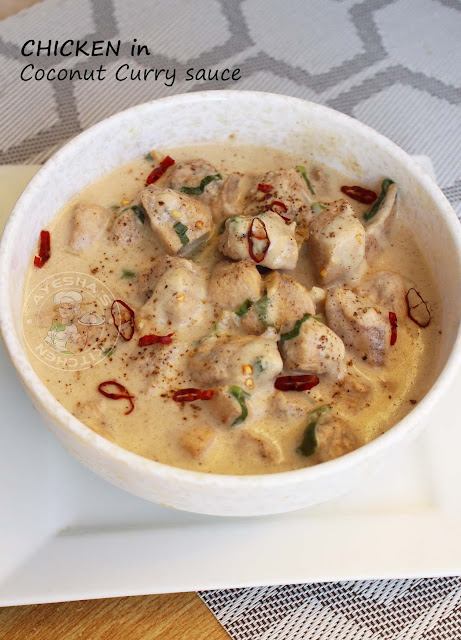chicken in coconut curry sauce stir fried chicken chicken recipes coconut milk recipes spicy chicken recipe