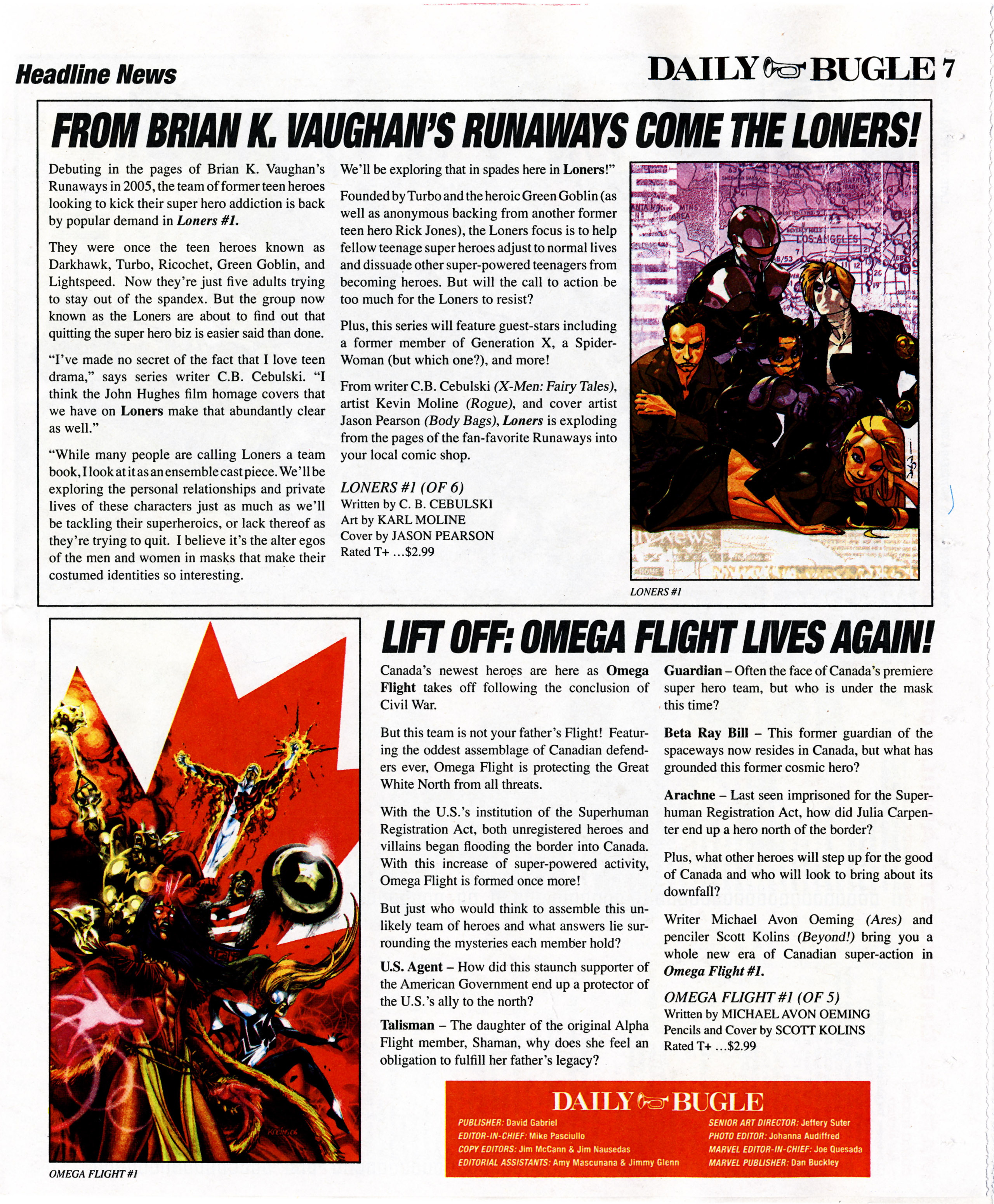 Read online Daily Bugle (2006) comic -  Issue #7 - 7