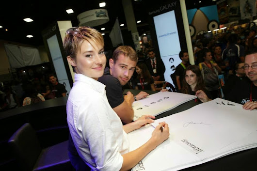 Summit Entertainment Divergente en Comic-Con 2014
