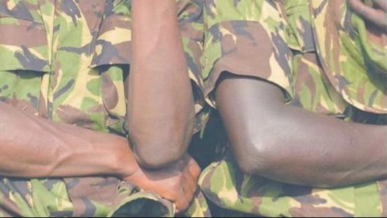 kenyan soldiers hiv immunity