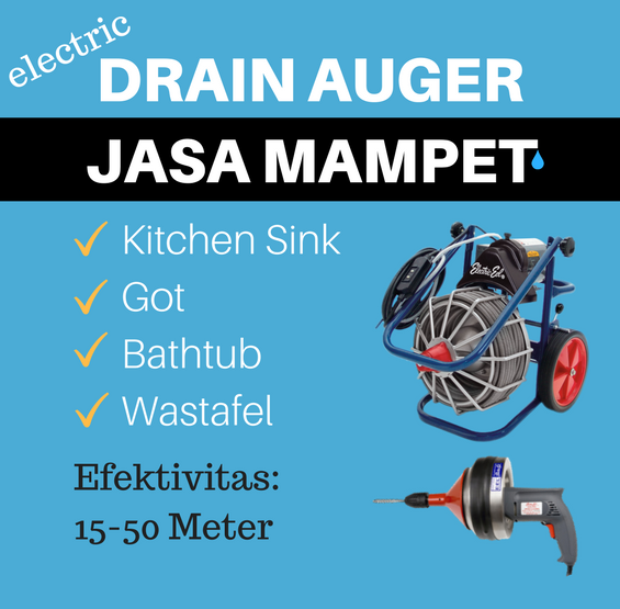 electric drain auger