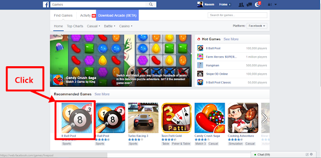 Play now it Facebook Games