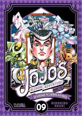 "Reseña de ""JoJo's Bizarre Adventure Part IV: Diamond Is Unbreakable"" vol. 9 de Hirohiko Araki - Ivréa"