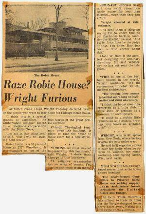 Robie House en Chicago | Frank Lloyd Wright | Prairie style | Floor plan
