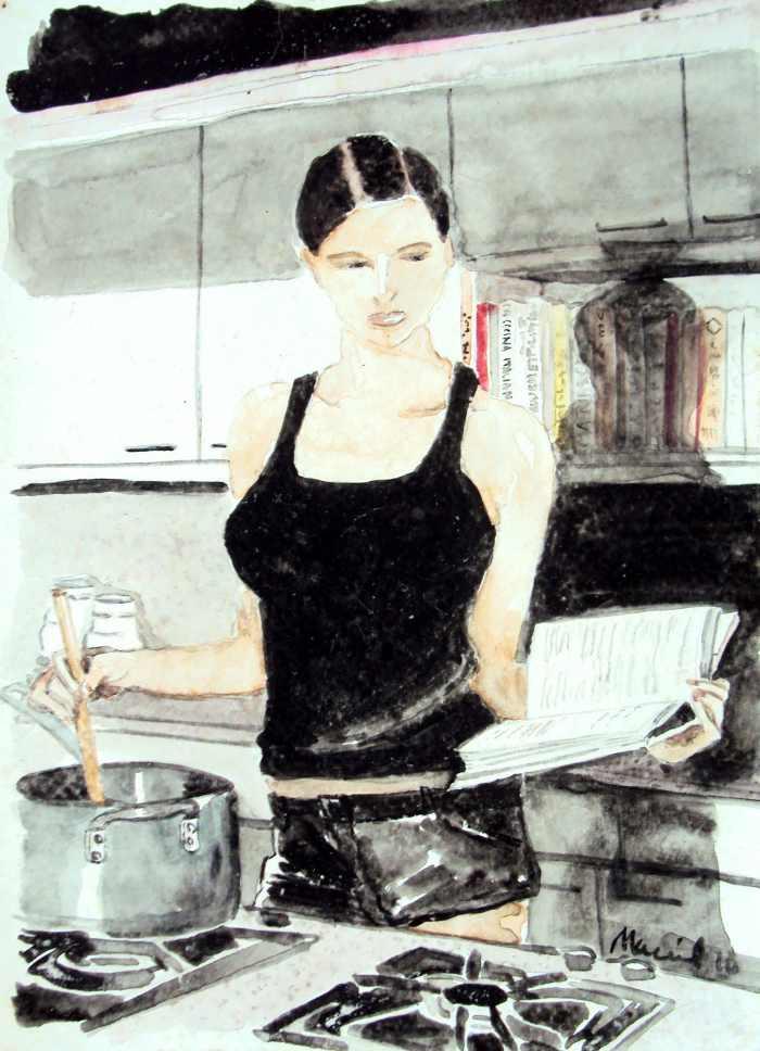 Отражения женщин. Nora Maciel