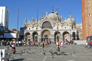 The Basilica of St Mark in Venice