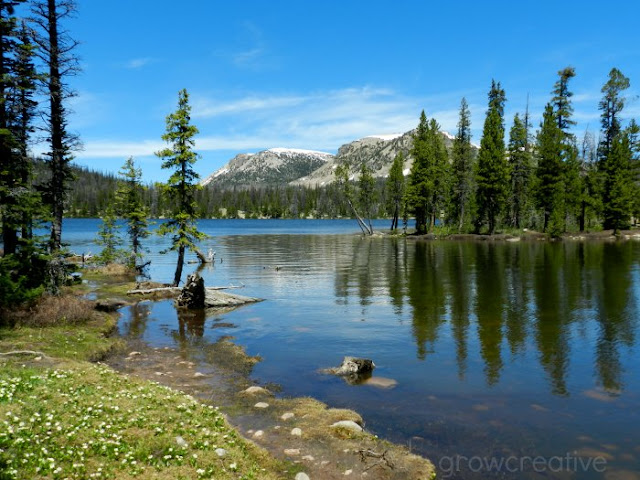 Mirror Lake, Uinta Mountains: growcreativeblog