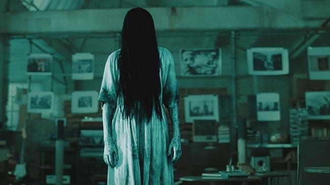 Garota do filme O Chamado apareceu numa loja