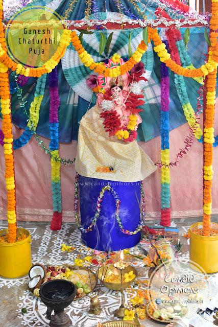 Ganesh Chaturthi Puja at Home