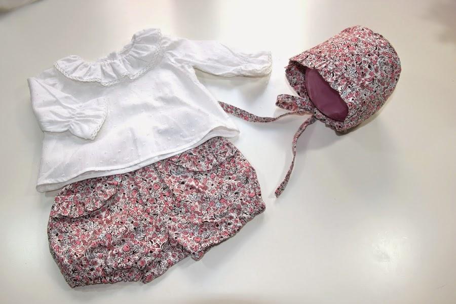 patrones de capota gratis. Patrones ropa de bebe gratis.