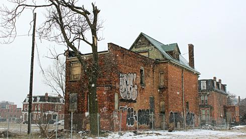 abandoned detroit michigan buildings