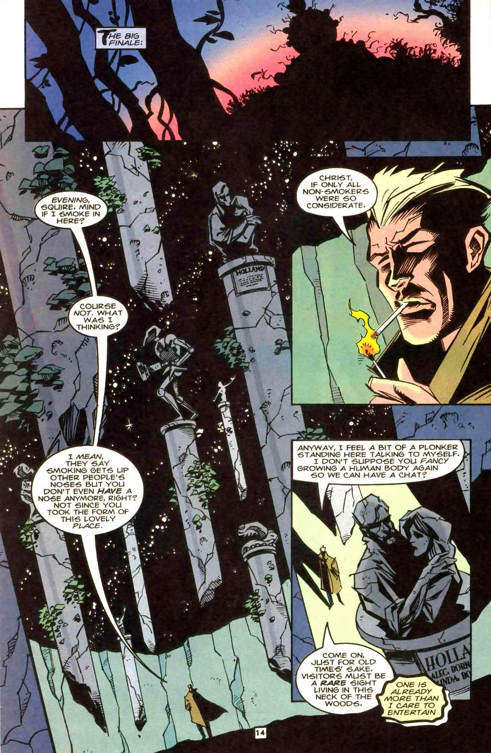 Swamp Thing (1982) #169 #177 - English 15