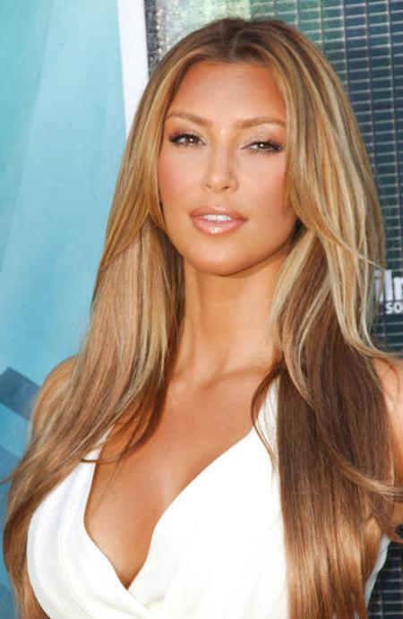 Speaking kim kardashian blonde hair highlights
