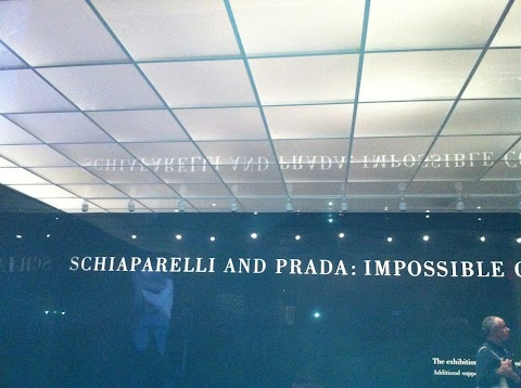 Schiaparelli And Prada exhibition