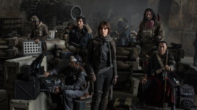 Disney vuelve a rodar escenas de 'Rogue one: Una historia de Star wars'