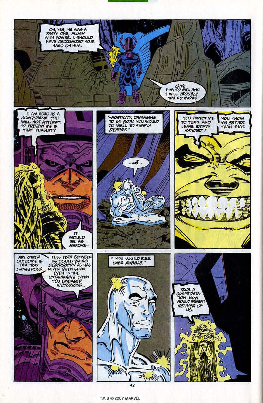 Read online Silver Surfer (1987) comic -  Issue #82 - 44