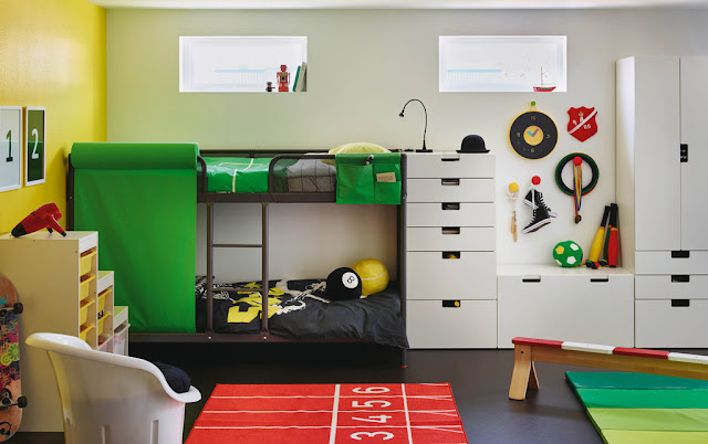 интерьет комнаты для мальчика