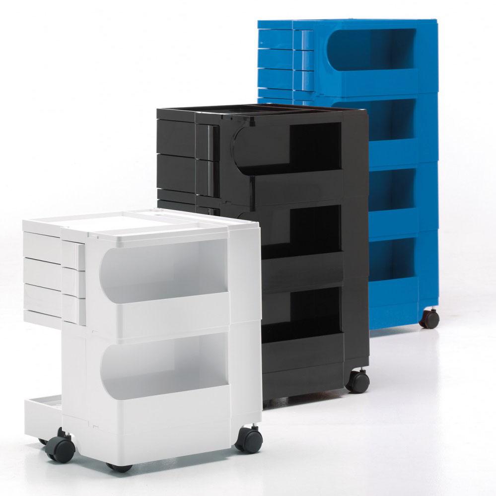 Modern Office Boby Organizer White Furniture Plastic