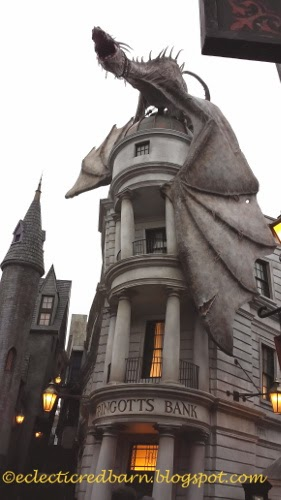 Eclectic Red Barn: Gringotts Wizarding Bank