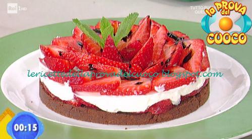 Cheesecake alle fragole ricetta Scarpa da Prova del Cuoco