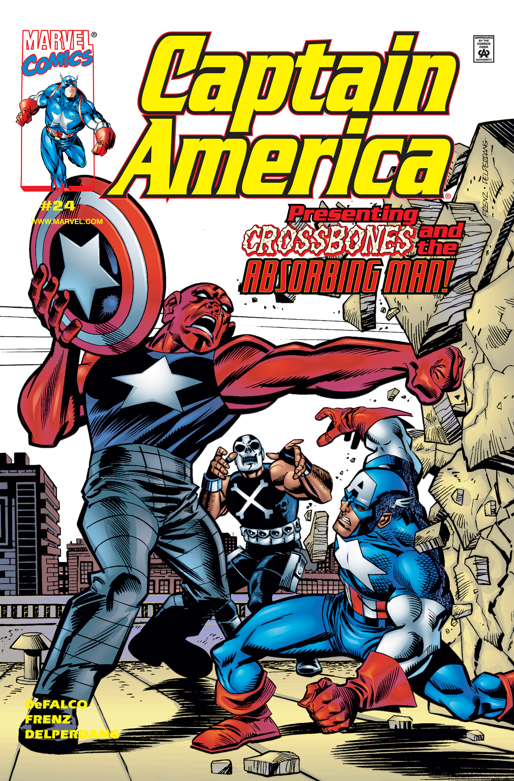 Captain America (1998) 24 Page 1