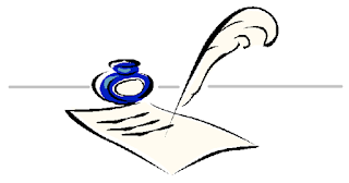 Image of quill and parchment