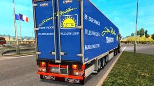 Chereau trailer mod ETS2 1.27