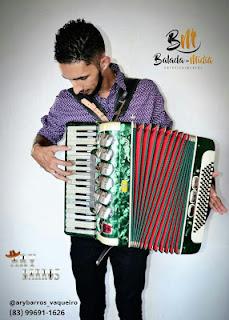O cantor Ary Barros é uma das principais atrações da Tradicional Festa de São Sebastião, em Picuí