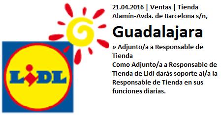 Lanzadera de Empleo Virtual Guadalajara, Oferta Lidl