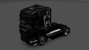 Rambo Lady Skin Scania RJL