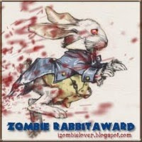 Zombie Rabbit Award presented by vvb32reads